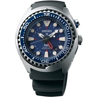Seiko Men's SUN065 Prospex Kinetic Diver's Watch with 200M Water Resistance