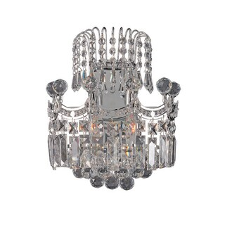 Corona Collection Crystal Wall Sconce 1808W-1212