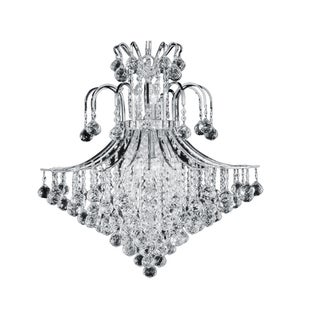 Toureg Collection Steel and Crystal Chandelier