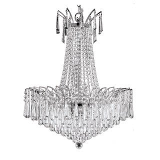 Victoria Drop Collection Crystal Chandelier