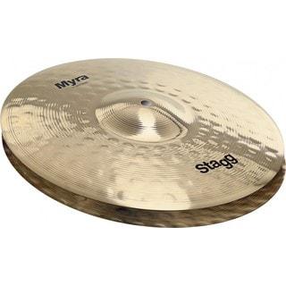 Stagg MY-HB14 Myra Series 14-inch Bite Hi-hat Cymbals