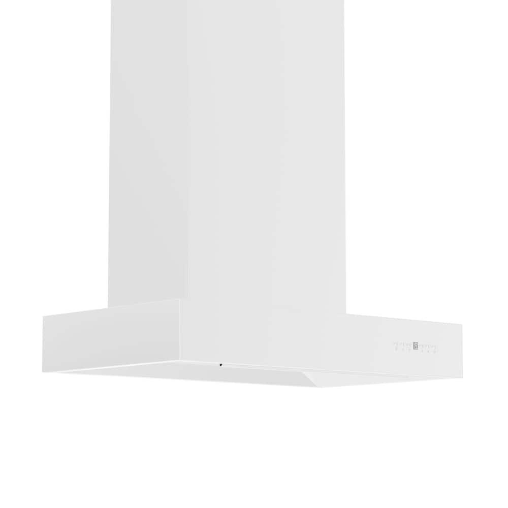 Zline Kitchen and Bath ZLINE 48 in.  Professional Wall Mount Range Hood in Stainless Steel (KECOM-48) (48 in.)