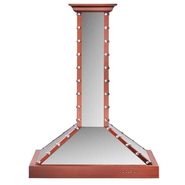 ZLINE 36 in. 760 CFM Designer Series Wall Mount Range Hood (KB2-SCCXS-36)
