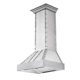 ZLINE 48 in. 1200 CFM Designer Series Wall Mount Range Hood (655-4SSSS-48)