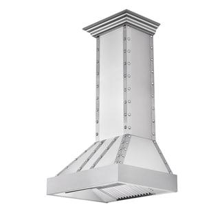 ZLINE 36 in. 1200 CFM Designer Series Wall Mount Range Hood (655-4SSSS-36)