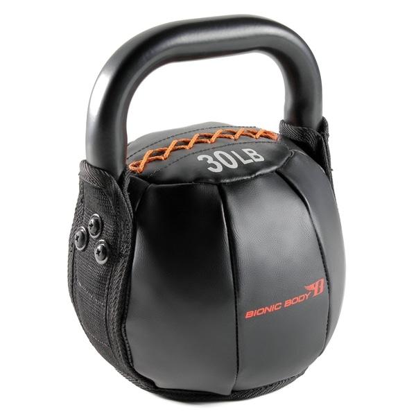 Bionic Body Black 30-pound Kettlebell