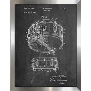 """Cole Borders """"Snare Drum (Thompson)"""" Framed Wall Art"""