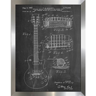 "Cole Borders ""Guitar"" Framed Wall Art"