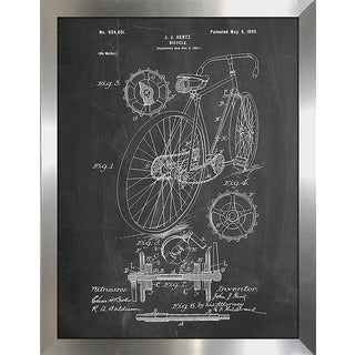 "Cole Borders ""Bicycle D"" Framed Wall Art"