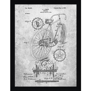 "Cole Borders ""Bicycle A"" Framed Wall Art"