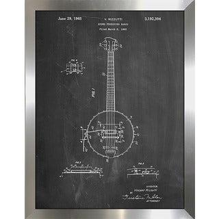 "Cole Borders ""Banjo D"" Framed Wall Art"
