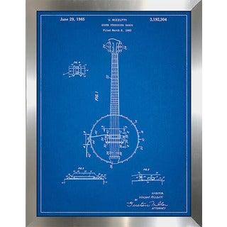 "Cole Borders ""Banjo B"" Framed Wall Art"