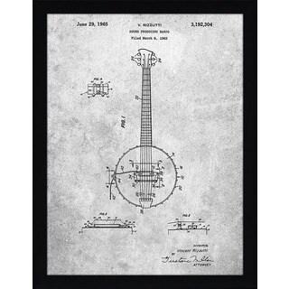 "Cole Borders ""Banjo A"" Framed Wall Art"