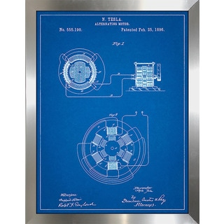 "Cole Borders ""Alternating Motor B"" Framed Wall Art"