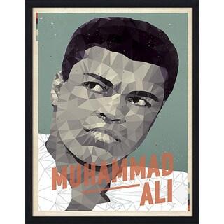 """American Flat """"Muhammad Ali"""" Framed Wall Art"""