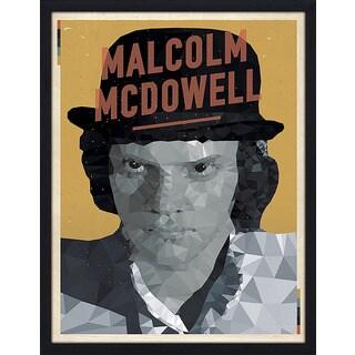 "American Flat ""Malcolm McDowell"" Framed Wall Art"