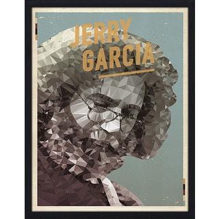 "American Flat ""Jerry Garcia"" Framed Wall Art"