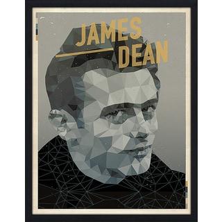 """American Flat """"James Dean"""" Framed Wall Art"""
