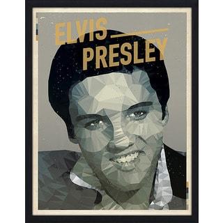"American Flat ""Elvis Presley"" Framed Wall Art"