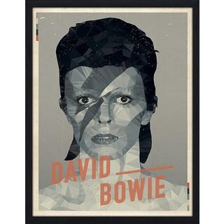 "American Flat ""David Bowie"" Framed Wall Art"