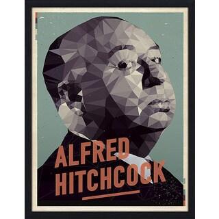 "American Flat ""Alfred Hitchcock"" Framed Wall Art"