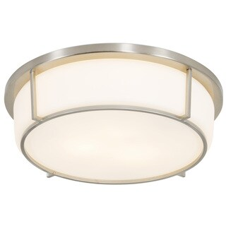 Rogue Decor Smart 3-light Flush Ceiling Light