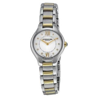 Raymond Weil Women's 5124-STP-00985 'Noemia' Diamond Two-Tone Stainless Steel Watch