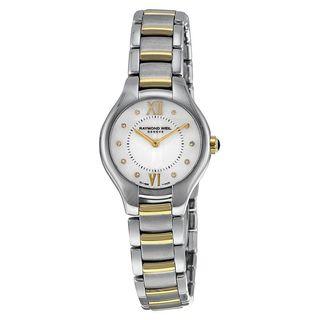 Raymond Weil Women's 5124-STP-00985 'Noemia' Diamond Two-Tone Stainless Steel Watch