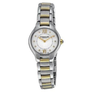 Link to Raymond Weil Women's 5124-STP-00985 'Noemia' Diamond Two-Tone Stainless Steel Watch Similar Items in Women's Watches