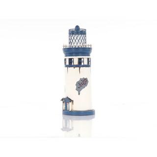 Vintage Metal Lighthouse Figurine
