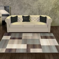 Superior Designer Clifton Multicolored Area Rug