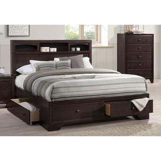 Espresso Acme Furniture Madison II Bed with Storage