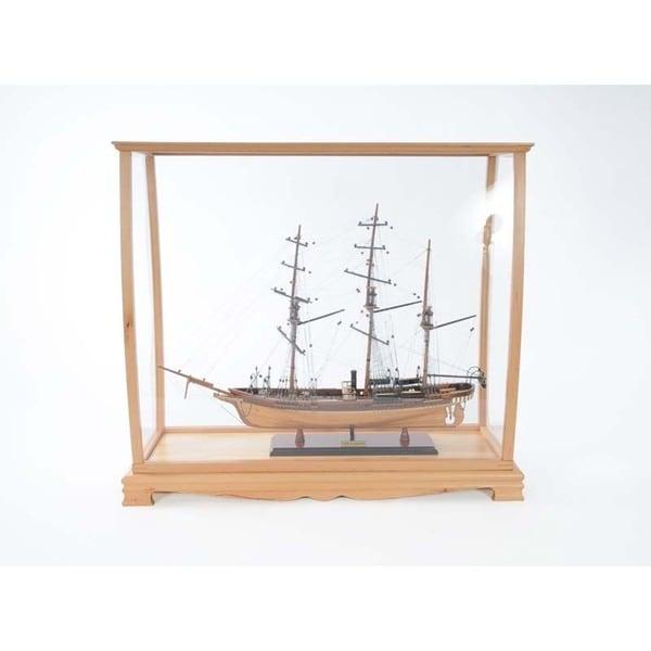 Midsize Plexiglass Display Case for Tall Ships