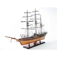 CSS Alabama Model Sailboat with out Sails