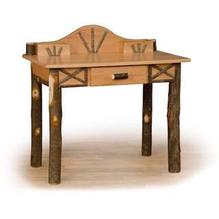 Rustic Hickory or Hickory & Oak Writing Desk