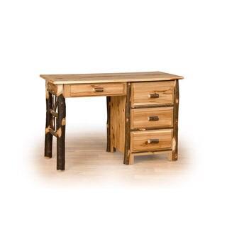 Rustic Hickory or Hickory & Oak Student Desk