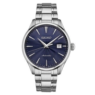 Seiko Men's SRPA29 Stainless Steel 24 Jewell Automatic Leather Strap Watch with a Day and Date|https://ak1.ostkcdn.com/images/products/13181377/P19904002.jpg?_ostk_perf_=percv&impolicy=medium