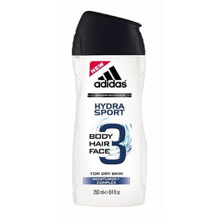 Adidas 8.4-ounce Hydra Sport 3-in-1 Body, Hair, and Face Wash for Dry Skin