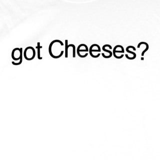 Gildan 100% Cotton Mens 'got Cheeses?' Short Sleeve T-Shirt