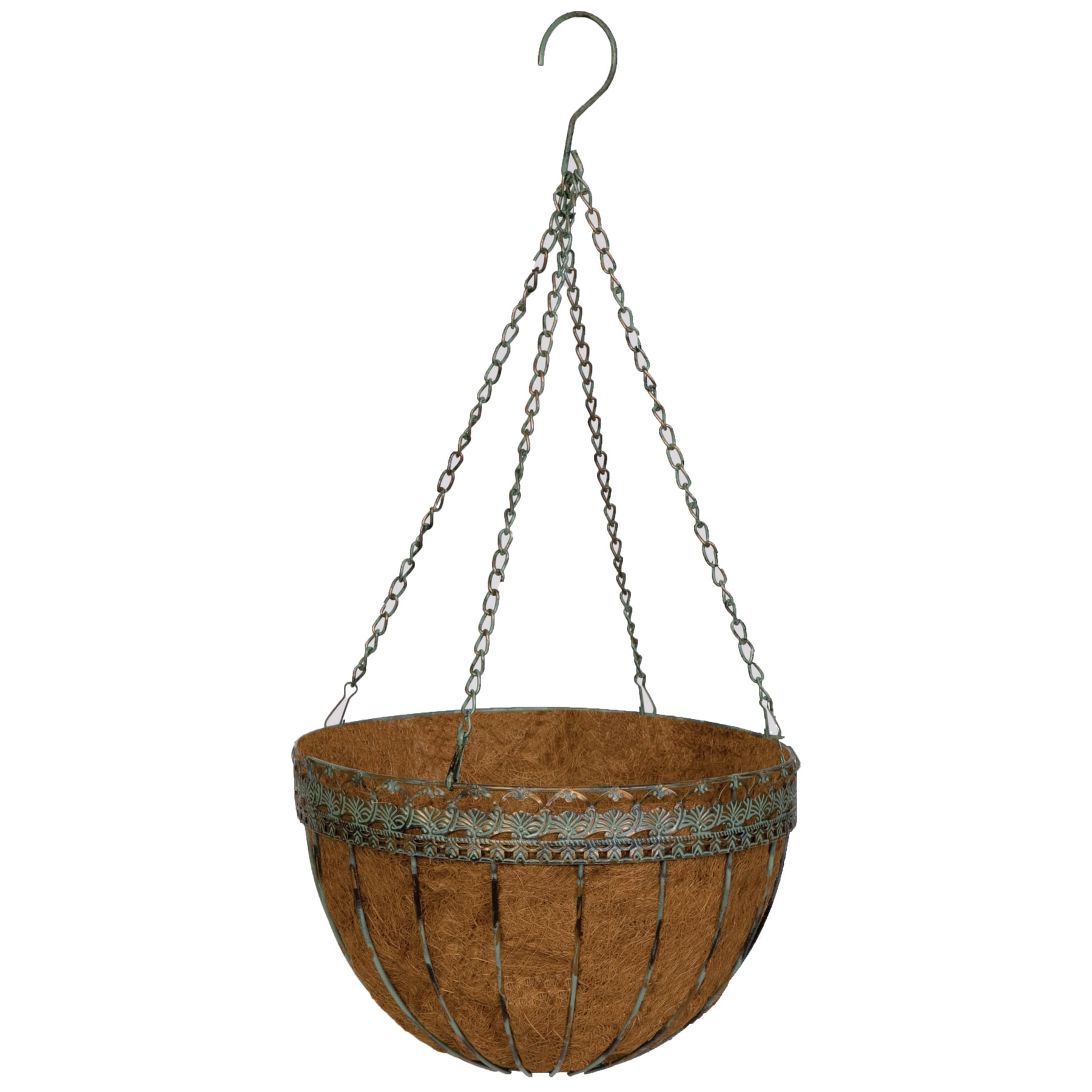 "Jensen Gardman R574 14"" Victorian Hanging Basket (Hng Bsk..."
