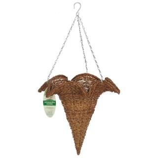 Gardman R290 Rustic Rattan Hanging Star Cone