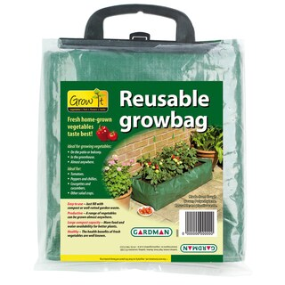 "Gardman 7500 39 x 16"" x 9 Green Reusable Patio Grow Bag"