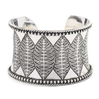 Sanctuary Cuff - Silver
