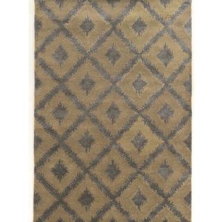 Hand Tufted Aspire Kilim Grey Wool Rug (8' x 11')
