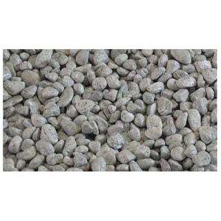 "Z2 Manufacturing 055-7302 2 lb Bag 3/8"" White Ice Garden Rock"