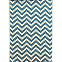 Power Loomed Claremont Chevron Polypropylene Rug