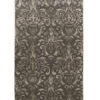 Hand Tufted Aspire Clara Grey Wool Rug (5' x 8')