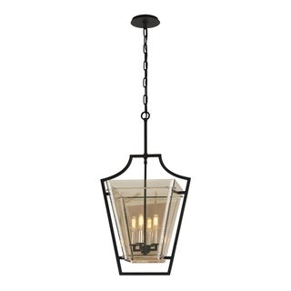 Troy Lighting Domain 4-light Iron Pendant
