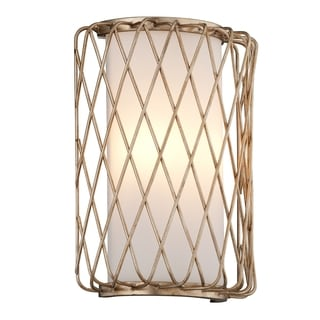 Troy Lighting Hideaway LED Champagne Leaf Wall Sconce