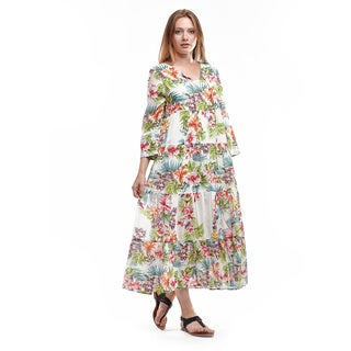 Stretchy cotton summer dresses